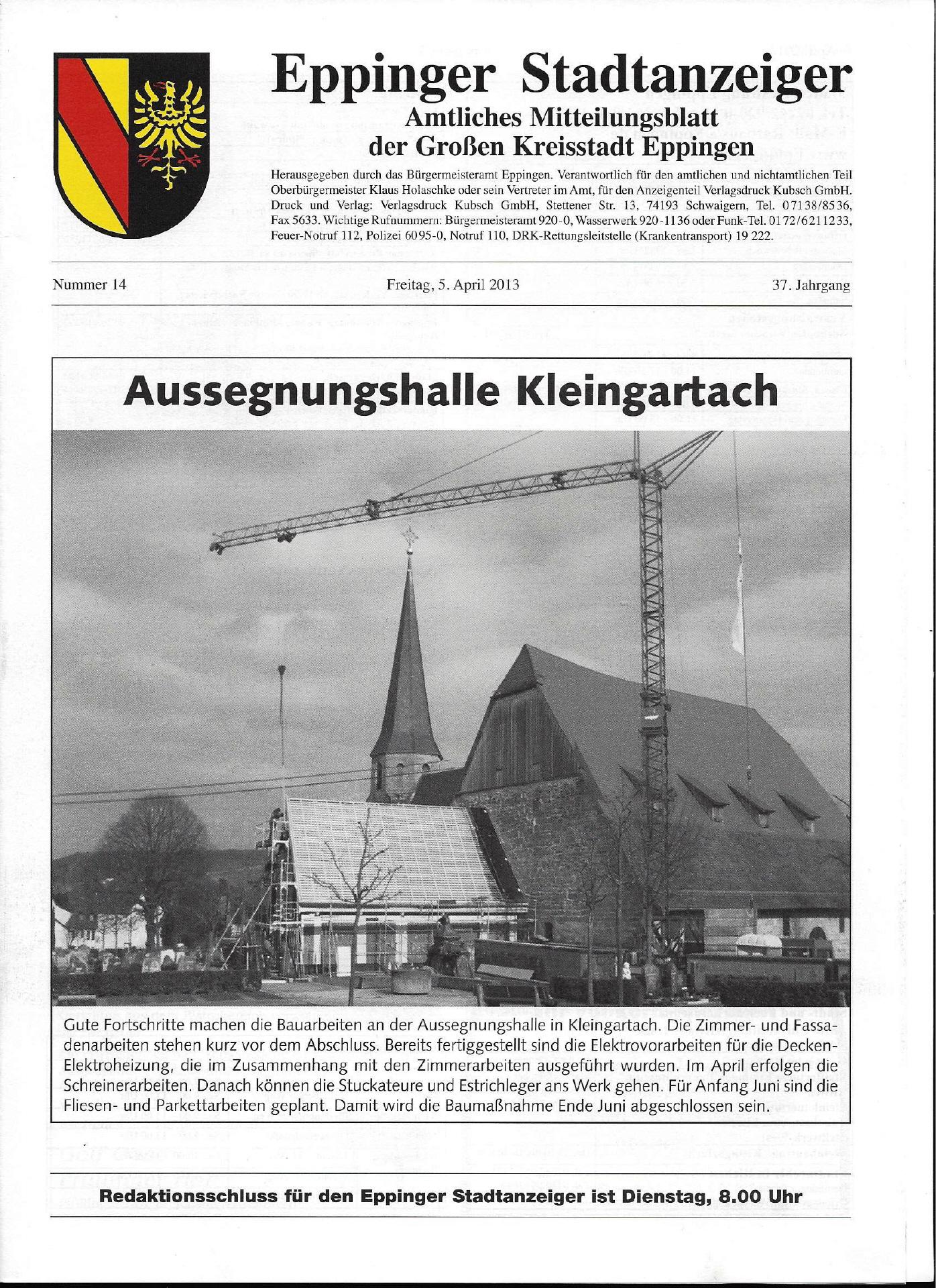 Grandi Joos – Aussegnungshalle Kleingartach